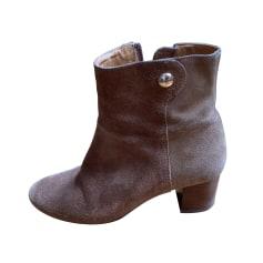 High Heel Ankle Boots Des Petits Hauts