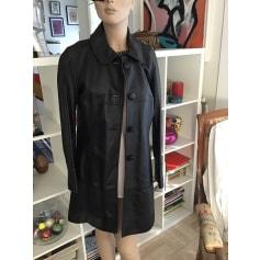 Manteau en cuir Caroll  pas cher