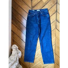 Jeans droit Selected  pas cher
