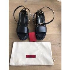 Sandales compensées Valentino  pas cher