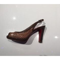 Sandales à talons Daniele Tucci  pas cher