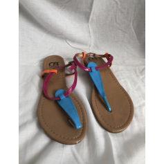 Sandales plates  Cassis  pas cher