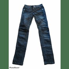 Jeans droit Marithé et François Girbaud  pas cher