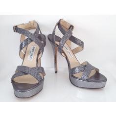 Sandales compensées Jimmy Choo  pas cher