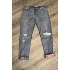 Jeans large, boyfriend Scotch & Soda  pas cher