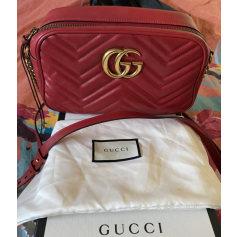 Sac à main en cuir Gucci Marmont pas cher