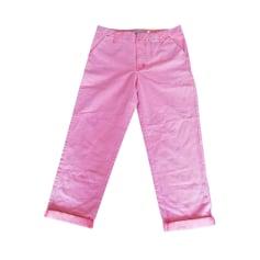 Pantalon carotte Calvin Klein  pas cher