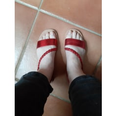 Sandales plates  Eram  pas cher