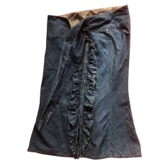 Jupe en jean Jean Paul Gaultier  pas cher