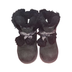 Bottines & low boots plates UGG  pas cher