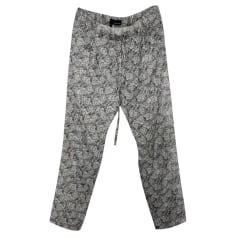 Pantalon droit The Kooples  pas cher