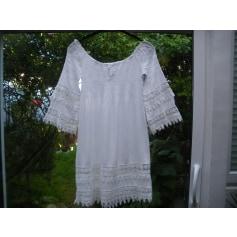 Robe mi-longue Made In Italie  pas cher