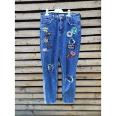 Jeans large, boyfriend River Island  pas cher