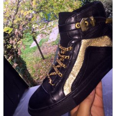 Bottines & low boots plates Bronx  pas cher