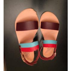 Sandales plates  Ancient Greeks Sandals  pas cher