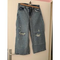 Jeans très evasé, patte d'éléphant Pull & Bear  pas cher