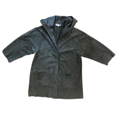 Manteau en cuir Ba&sh  pas cher