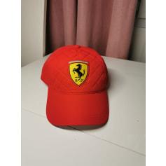 Casquette Ferrari  pas cher
