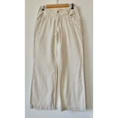 Pantalon droit MARC LAUGE  pas cher