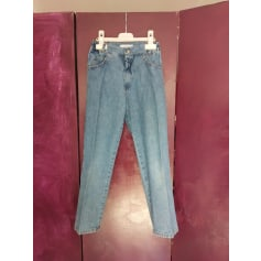 Jeans droit Clayeux  pas cher
