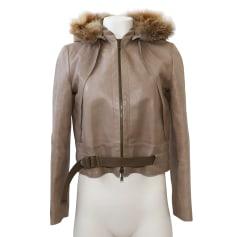Leather Jacket Louis Vuitton
