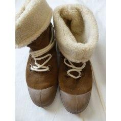 Bottines & low boots plates Bensimon  pas cher