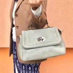 Lederhandtasche Vintage