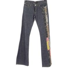 Jeans droit Custo Barcelona  pas cher