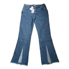 Jeans évasé, boot-cut Claudie Pierlot  pas cher