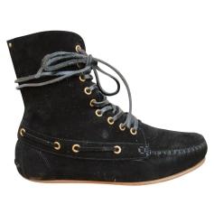 Bottines & low boots plates Jerome Dreyfuss  pas cher