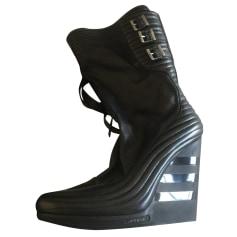 Bottines & low boots à talons Y-3  pas cher