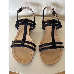 Sandales plates  Sara Lopez  pas cher