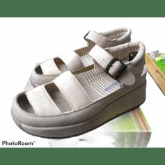 Sandales compensées Mosquitos  pas cher