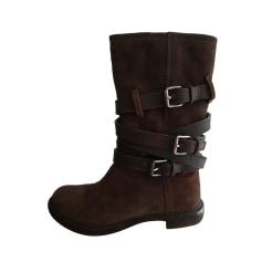 Flat Ankle Boots Miu Miu
