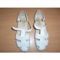 Sandales plates  bar  pas cher