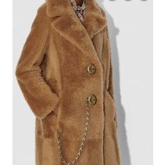 Manteau en fourrure Coach  pas cher