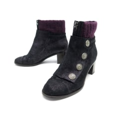 High Heel Ankle Boots Chanel