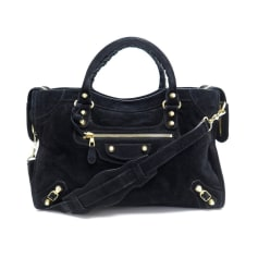 Leather Handbag Balenciaga City
