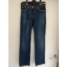 Jeans droit Versace  pas cher