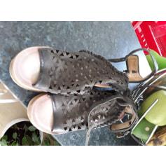 Sandales compensées AirStep  pas cher