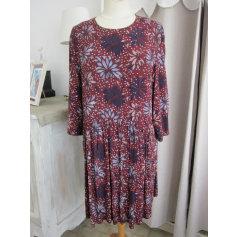 Robe mi-longue Monoprix  pas cher