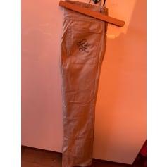 Pantalon très evasé, patte d'éléphant Ralph Lauren  pas cher