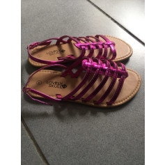 Chaussures à boucle   pas cher