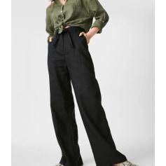 Pantalon très evasé, patte d'éléphant C&A  pas cher