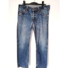 Jeans large Yohji Yamamoto  pas cher