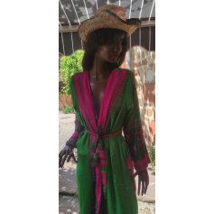 Robe longue kalami  pas cher