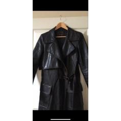 Manteau en cuir Cuir Co  pas cher