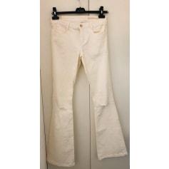 Pantalon très evasé, patte d'éléphant Zara  pas cher