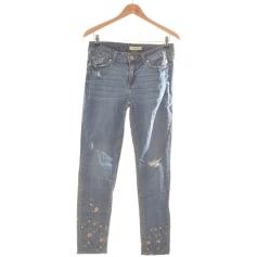 Jeans droit Naf Naf  pas cher