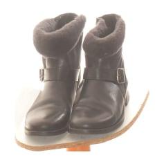 Flat Ankle Boots Comptoir Des Cotonniers